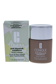 Anti-Blemish Solutions Liquid Makeup#03 Fresh Neutral(MF)-Dry Comb. To Oily Skin by Clinique for Women - 1 oz Foundation