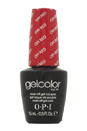 GelColor Soak-Off Gel Lacquer # GC L72 - Opi Red by OPI for Women - 0.5 oz Nail Polish