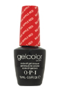GelColor Soak-Off Gel Lacquer # GC N25 - Big Apple Red by OPI for Women - 0.5 oz Nail Polish