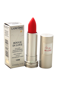 Rouge In Love High Potency Color Lipstick # 159b Rouge In Love Lancome 0.12 Oz