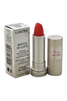 Rouge In Love High Potency Color Lipstick #322m Corail In Love Lancome 0.12 Oz