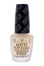 Matte Top Coat NT T35 by OPI for Women - 0.5 oz Nail Polish