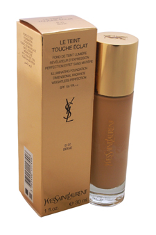 Le Teint Touche EClat Illuminating Foundation SPF 19 - # B30 Beige by Yves Saint Laurent for Women - 1 oz Foundation