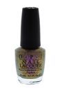 Nail Lacquer # NL M79 Kermit Me To Speak by OPI for Women - 0.5 oz Nail Polish