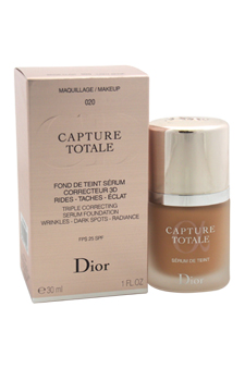 Christian Dior Capture Totale Triple Correcting Serum Foundation SPF 25 # - 020 Light Beige women 1oz