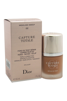 Christian Dior Capture Totale Triple Correcting Serum Foundation SPF 25 # - 032 Rosy Beige women 1oz