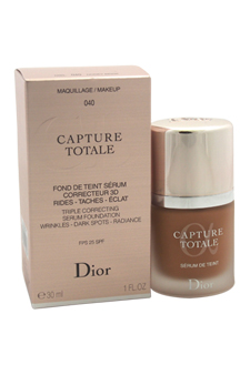 Christian Dior Capture Totale Triple Correcting Serum Foundation SPF 25 # - 040 Honey Beige women 1oz