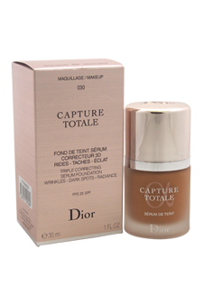 Christian Dior Capture Totale Triple Correcting Serum Foundation SPF 25 - # 030 Medium Beige women 1oz