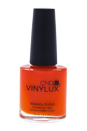 CND Vinylux Weekly Polish - # 112 Electric Orange by CND for Women - 0.5 oz Nail Polish