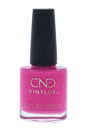 CND Vinylux Weekly Polish - # 121 Hot Pop Pink by CND for Women - 0.5 oz Nail Polish
