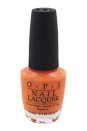Nail Lacquer - # NL A66 Where did Suzi's Man-go? by OPI for Women - 0.5 oz Nail Polish
