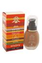 Phyto Teint Eclat Fluid Foundation - # 6 Amber by Sisley for Women - 1 oz Foundation