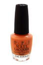 Nail Lacquer - # NL H68 Is Mai Tai Crooked? by OPI for Women - 0.5 oz Nail Polish