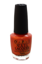 Nail Lacquer - # NL H69 Go with the Lava Flow by OPI for Women - 0.5 oz Nail Polish