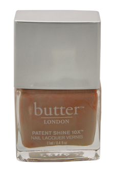 Patent Shine 10X Nail Lacquer - Shop Girl by Butter London for Women - 0.4 oz Nail Lacquer