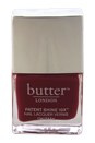 Patent Shine 10X Nail Lacquer - Broody by Butter London for Women - 0.4 oz Nail Lacquer