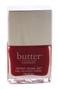 Patent Shine 10X Nail Lacquer - Her Majesty's Red by Butter London for Women - 0.4 oz Nail Lacquer