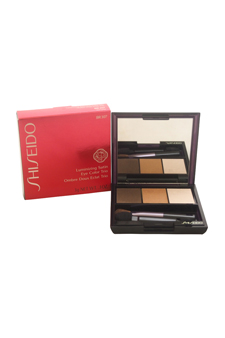 Luminizing Satin Eye Color Trio - # BR307 Strata by Shiseido for Women - 0.1 oz Eye Color