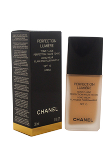 Perfection Lumiere Long-Wear Flawless Fluid Makeup SPF 10 - # 25 Beige by Chanel for Women - 1 oz Makeup