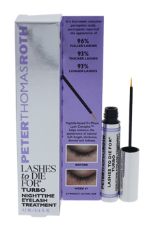 Lashes To Die for Turbo by Peter Thomas Roth for Women - 0.16 oz Eyelash Treatment