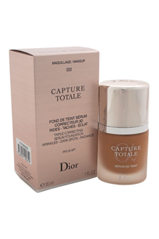 Christian Dior Capture Totale Triple Correcting Serum Foundation SPF 25 - # 033 Apricot Beige women 1oz