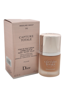 Christian Dior Capture Totale Triple Correcting Serum Foundation SPF 25 - # 010 Ivory women 1oz