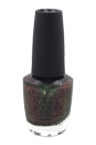 Nail Lacquer - # NL C18 Green On The Runway by OPI for Women - 0.5 oz Nail Polish