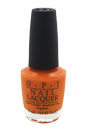 Nail Lacquer - # NL C33 Orange You Stylish! by OPI for Women - 0.5 oz Nail Polish