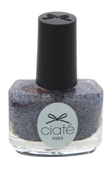 Mini Paint Pot Nail Polish and Effects - Star Struck/Blue Holographic Glitter