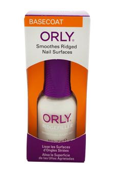 Ridgefiller Smoothing Basecoat by Orly for Women - 0.6 oz Nail Polish