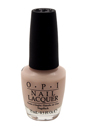 Nail Lacquer # NL T66 Act Your Beige! by OPI for Women - 0.5 oz Nail Polish