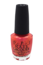 Nail Lacquer # NL A72 I Can't Hear Myself Pink! by OPI for Women - 0.5 oz Nail Polish