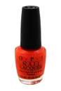 Nail Lacquer # NL N38 Down to the Core-al by OPI for Women - 0.5 oz Nail Polish