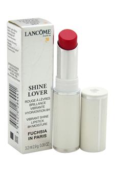 Shine Lover Vibrant Shine Lipstick - # 357 Fuchsia in Paris by Lancome for Women - 0.09 oz Lipstick