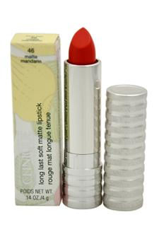 Long Last Soft Matte Lipstick - # 46 Matte Mandarin by Clinique for Women - 0.14 oz Lipstick