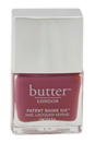 Patent Shine 10X Nail Lacquer - Dearie Me! by Butter London for Women - 0.4 oz Nail Lacquer