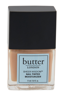 Sheer Wisdom Nail Tinted Moisturizer - Neutral by Butter London for Women - 0.4 oz Nail Lacquer