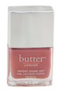 Patent Shine 10X Nail Lacquer - Comming Up Roses by Butter London for Women - 0.4 oz Nail Lacquer