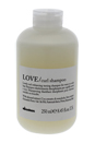 LOVE Curl Enhancing Shampoo by Davines for Unisex - 8.45 oz Shampoo