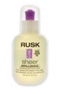 Sheer Brilliance Polisher by Rusk for Unisex - 4.2 oz Hair Refiner