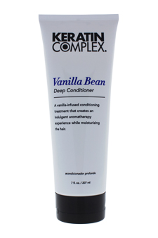 Keratin Complex Vanilla Bean Deep Conditioner by Keratin for Unisex - 7 oz Conditioner