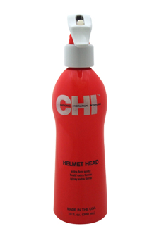 Helmet Head Extra Firm Spritz by CHI for Unisex - 10 oz Hairspray