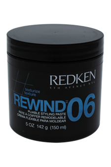 Rewind 06 Pliable Styling Paste by Redken for Unisex - 5 oz