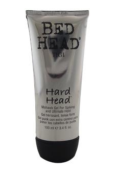 Bed Head Hard Head Mohawk Gel by TIGI for Unisex - 3.4 oz Gel