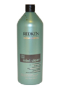 Mint Clean Shampoo by Redken for Men - 33.8 oz Shampoo