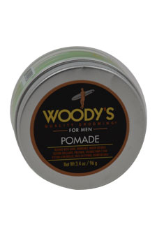 Pomade by Woody's for Men - 3.4 oz Pomade
