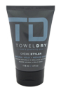 Natural Hold Creme Styler by Towel Dry for Men - 4 oz Cream
