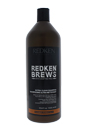 Clean Brew Extra Cleansing Shampoo by Redken for Men - 33.8 oz Shampoo
