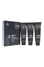 Precision Blend Hair Color Kit - # 2-3 Dark Oscuro by American Crew for Men - 3 x 1.35 oz Hair Color
