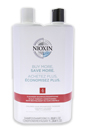 System 4 Cleanser & Scalp Therapy Conditioner Duo by Nioxin for Unisex - 33.8 oz Cleanser & Conditioner